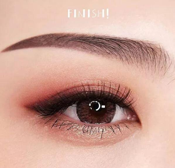 你知道眼妆能美到什么境界吗?看了就知道啦! 化妆知识 南京超妍美容化妆美甲学校